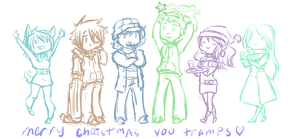 WWP - MERRY CHISMIS by Grudge-Glamorous