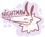 Nightmaw Logo by nightmaw