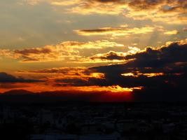 Winter Solstice Sunset -6- by IoannisCleary
