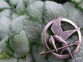 MockingJay Pin by Hearts-at-Sea