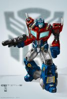 Optimus Prime by HCP-RedSync