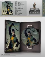 Half-Life Dvd Case by archnophobia