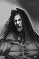 Death no mask (Darksiders 2 ) by IDN-Konzalaev-Sergei