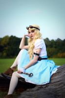 Steampunk Alice in Wonderland - 05 by bulleblue