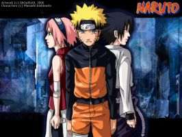 Naruto - Memories WP by GhoulSoul