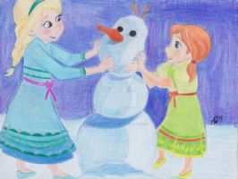 Lets Build a Snowman! by AmsAwsomeArt