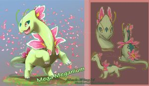 Mega Meganium by Black-Wing24