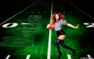 BEYONCE (Knowles): THIGH BOOT REFEREE by CSuk-1T
