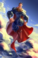 Superman Man of Steel by NaroNaromon