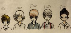 One Direction by MayaLikesMilk
