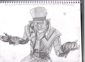 The Mad Hatter (Jervis Tetch) by Pythagasaurus