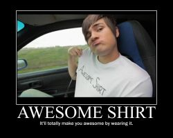 Smosh Awesome Shirt Motivator by htfman114