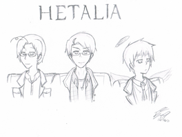 Supernatural-Hetalia Crossover by NajikaIce