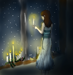 Candlelight to Bring You Home by Aveangeladarkangel
