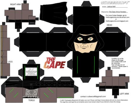 TheCape1: The Cape Cubee by TheFlyingDachshund