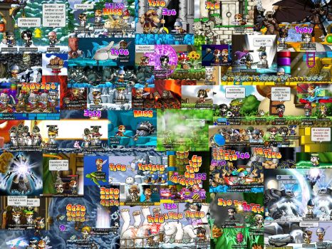 Maple Story Collage by KupoGames