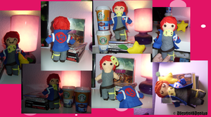 Party Poison Plushie by StardustSavior