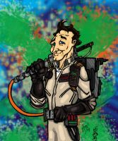 Peter Venkman by JamesLeeStone