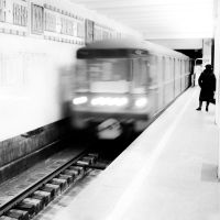 In the Subway by GregShanta