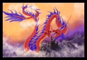 Legend of the Dragon by BradenYoung