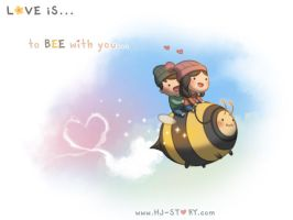 116. Love is... Bee with You by hjstory