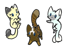 Kitty Adopts by Meekati-Adopts