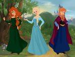 Disney's Newest Princesses by missyalissy