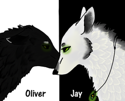 Oliver and Jay by angry-wolf-for-life