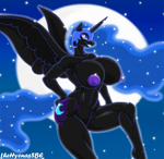 Nightmare Moon by theHyenasSBE