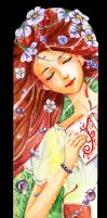 bookmark - - - Summer by redKat120