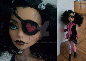 Monster High Doll Mod - Captain Phantom 3 by tbdoll