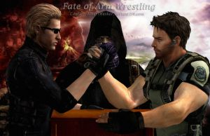 Fate of Arm Wrestling by Captain-AlbertWesker