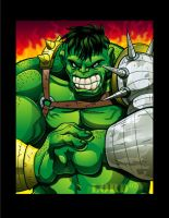 World War Hulk by lordmesa