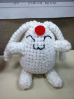 amigurumi mokona by NerdStitch