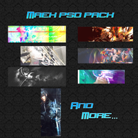 Maek psd pack 02 by maek-gfx