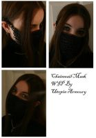 Chainmail Mask WIP by Utopia-Armoury
