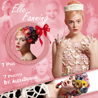 Elle Fanning PNG Pack by AlexaDesiign