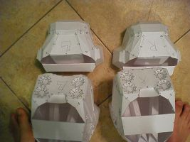 both boot armor assembled 2 by Freshbreath3