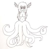Octopus Girl by vivian666vampira