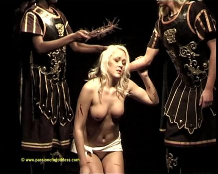 Short theater female Jesus 4 by passionofagoddess