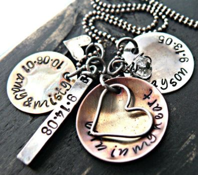 mixed metals and hearts by yourcharmedlife