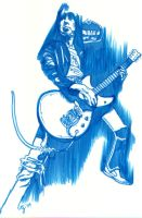 Johnny Ramone by aimeezhou