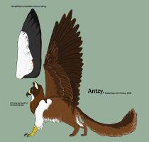 Antzy Kitty Gryphon by SoldierToger