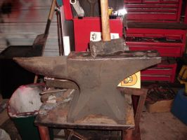 ANVIL  220lb   my new one by BROKENHILL