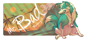 beach dog by Ryushay