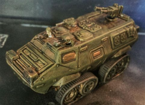 15mm Meerkats:  Armored Personnel Carrier by Spielorjh