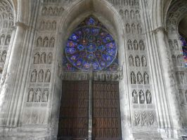 Notre Dame de Reims 4 by Chihito