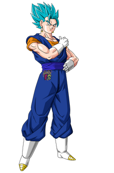 Vegetto Ssgss - Render - Dragon ball Super by FradayEsmarkers