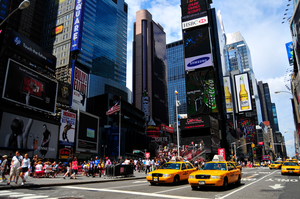 Times Square Color by mand3rz