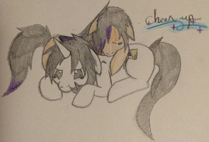.:Special gift:. ~Cheer Up~ by ChibiChibiWoofWoof